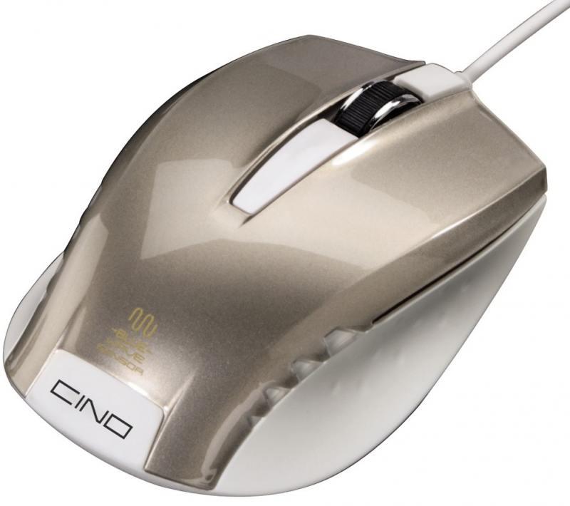Картинка для Мышь проводная HAMA Cino серый USB H-53868