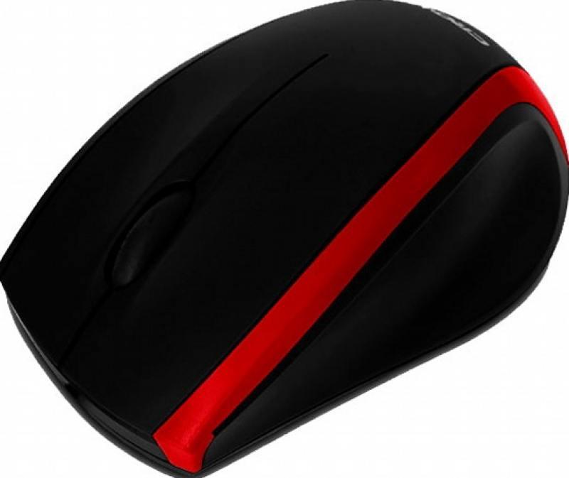 Мышь проводная Crown CMM-009 чёрный красный USB мышь проводная crown cmm 016 чёрный серебристый usb