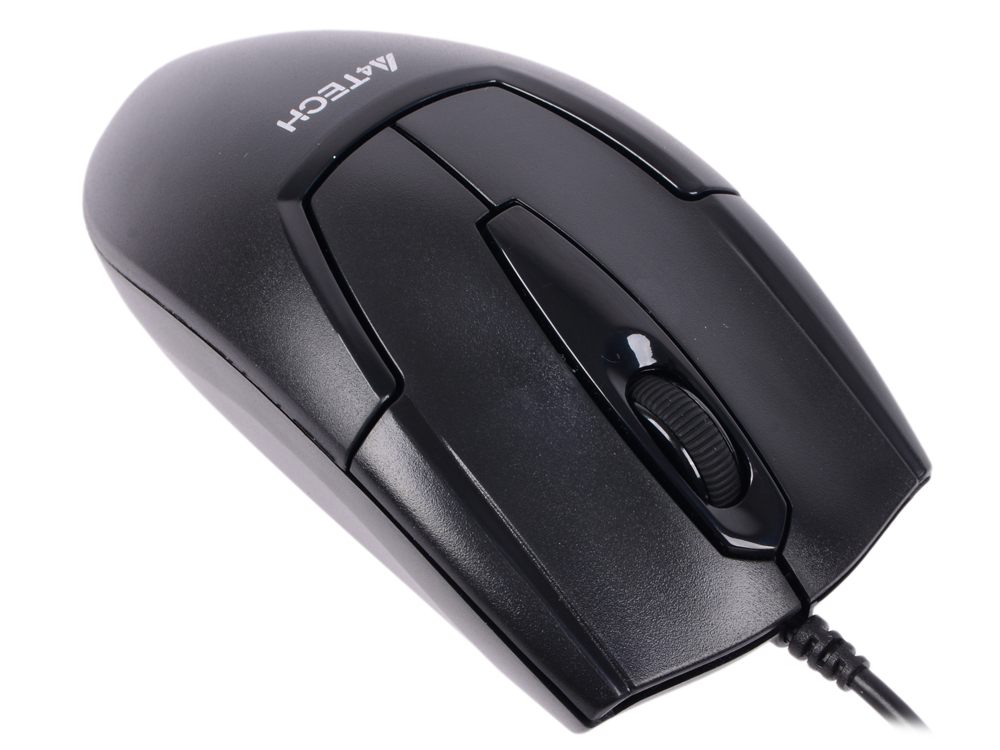 Мышь проводная A4TECH OP-540NU V-Track Padless чёрный USB цена и фото