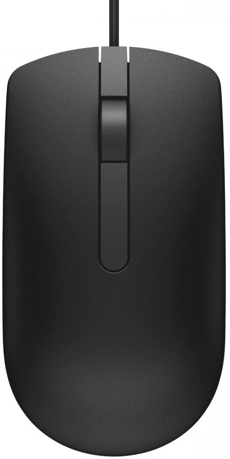 Мышь проводная DELL MS116p чёрный USB 570-AAIQ мышь dell wm326 570 aami 570 aami