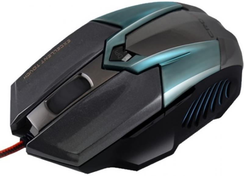 Мышь проводная Crown CMXG-606 синий чёрный USB мышь проводная crown cmxg 606 синий чёрный usb