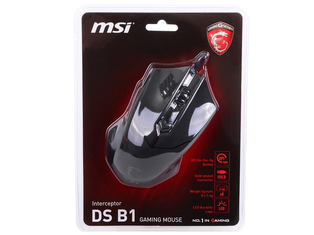 Мышь MSI Interceptor DS B1 GAMING Mouse