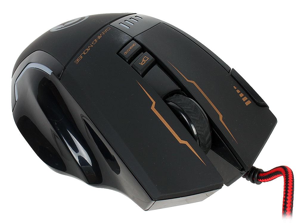 Мышь + Коврик Marvo G909+G1 Black USB проводная, оптическая, 3200 dpi, 7 кнопок + колесо цена и фото