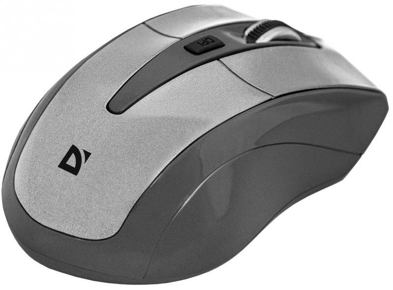 Картинка для Мышь беспроводная DEFENDER Accura MM-965 белый чёрный USB 52965