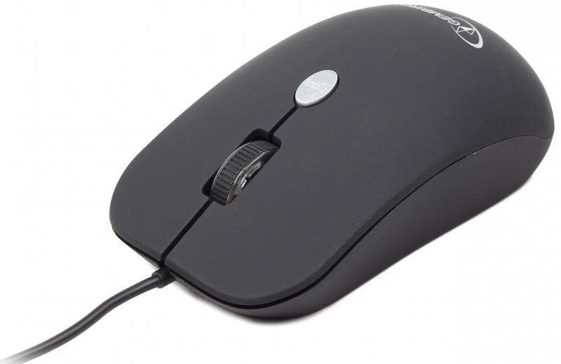 Мышь проводная Gembird MUS-102 чёрный USB