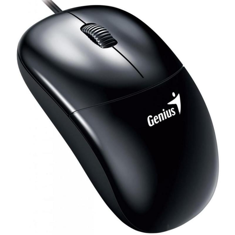 Мышь проводная Genius DX-135 чёрный USB мышь проводная genius dx 100x чёрный usb