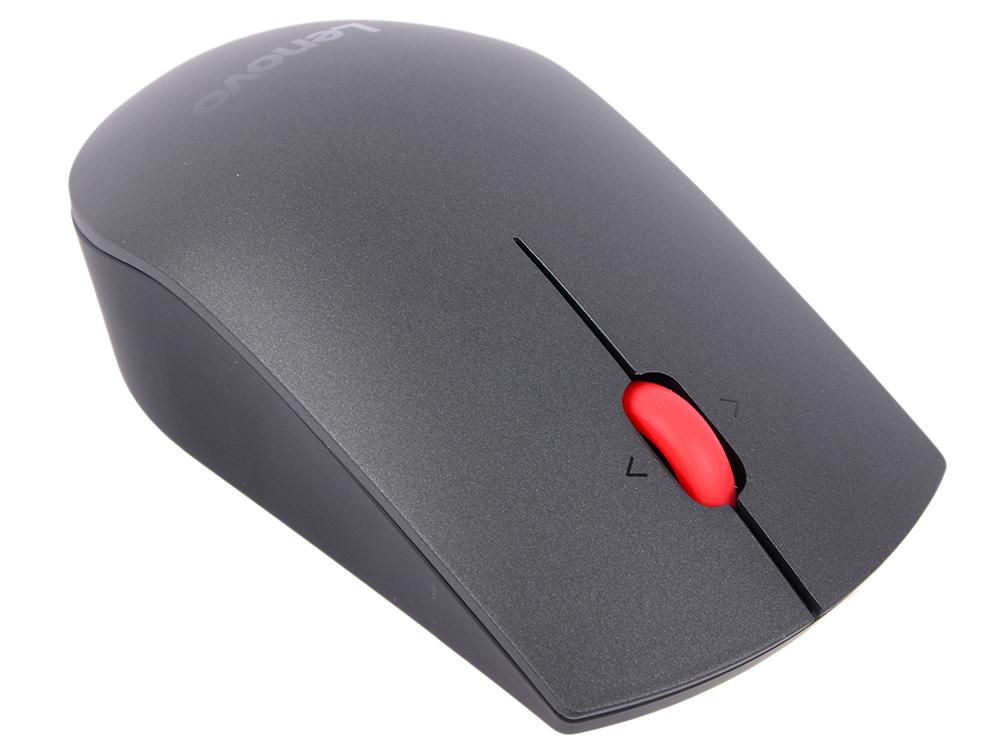 Мышь беспроводная Lenovo Professional Wireless Laser Mouse чёрный USB + радиоканал декор keros ceramica varna astra frios 50х50 комплект