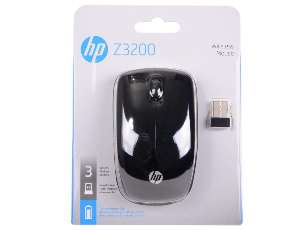 Мышь беспроводная HP Z3200 JOE44AA чёрный USB