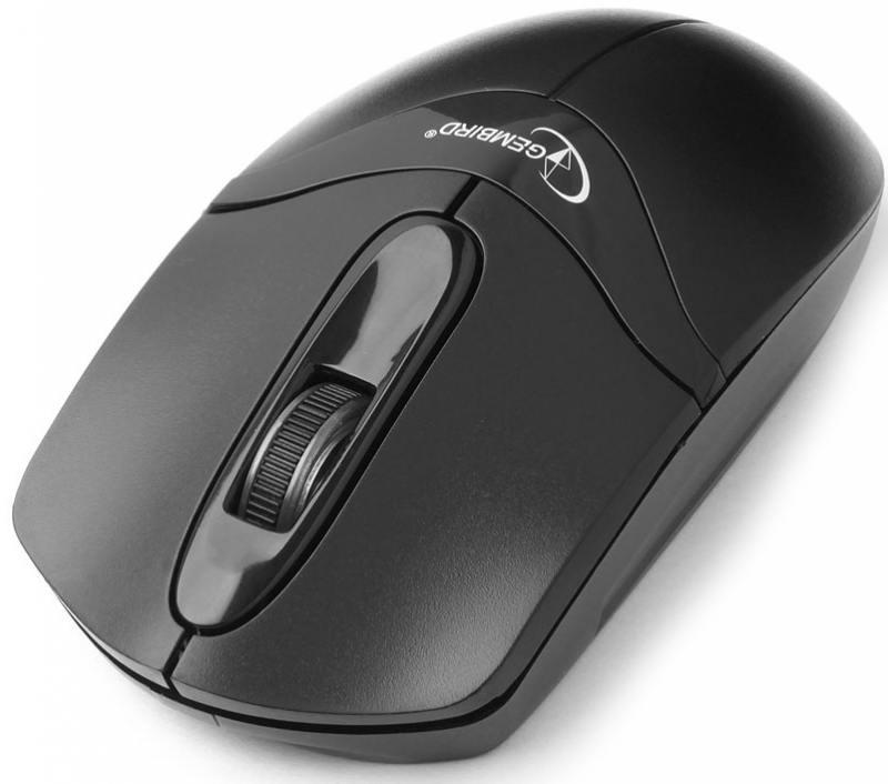 Мышь беспроводная Gembird MUSW-315 чёрный USB + радиоканал