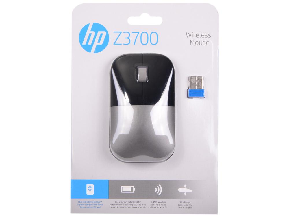 Мышь беспроводная HP Z3700 серебряный USB X7Q44AA#ABB полюс abb 1sca105461r1001
