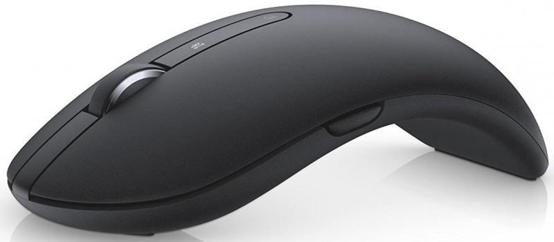 Мышь беспроводная DELL WM527 чёрный USB + Bluetooth 570-AAPS мышь dell wm326 570 aami 570 aami