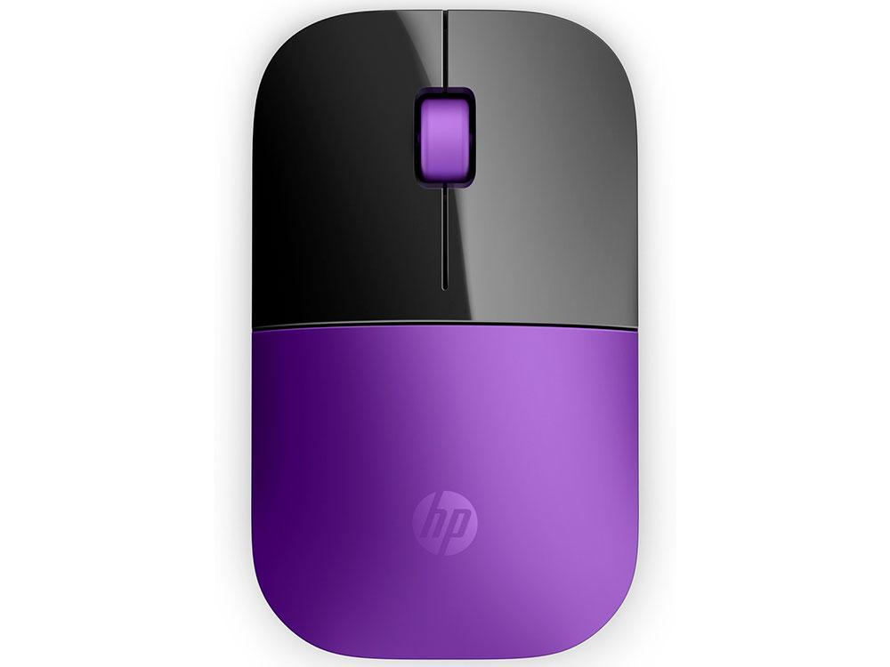 Купить Мышь Беспроводная Hp Z3700 Фиолетовый Чёрный Usb   Радиоканал