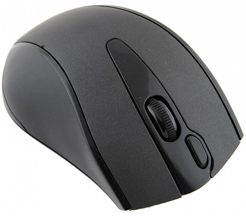 все цены на Мышь беспроводная A4TECH G9-500F-1 чёрный USB