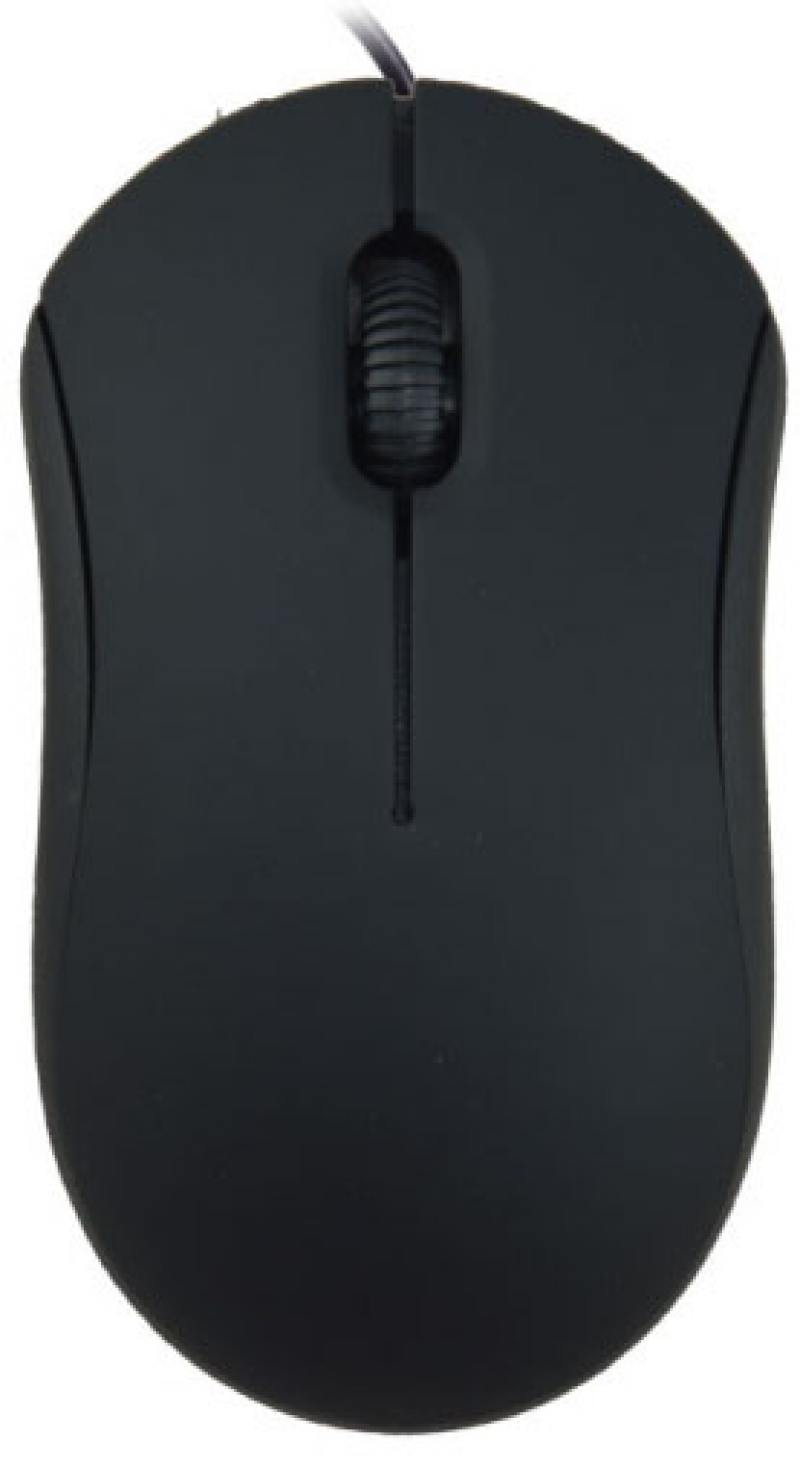 Мышь Ritmix ROM-111 чёрный USB цена и фото