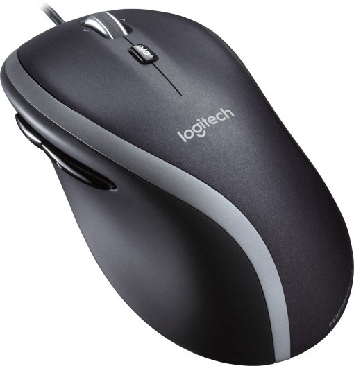 Мышь Logitech Mouse M500 Black USB проводная, оптическая, 1000 dpi, 6 кнопок + колесо weyes ms 929 wired 6 key usb 2 0 800 1000 1600 2400dpi optical gaming mouse black green