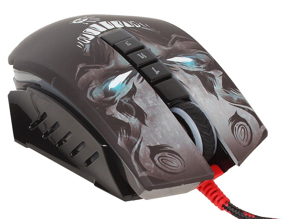все цены на Мышь A4 Bloody P85 черный оптическая (5000dpi) USB2.0 игровая (8but) онлайн