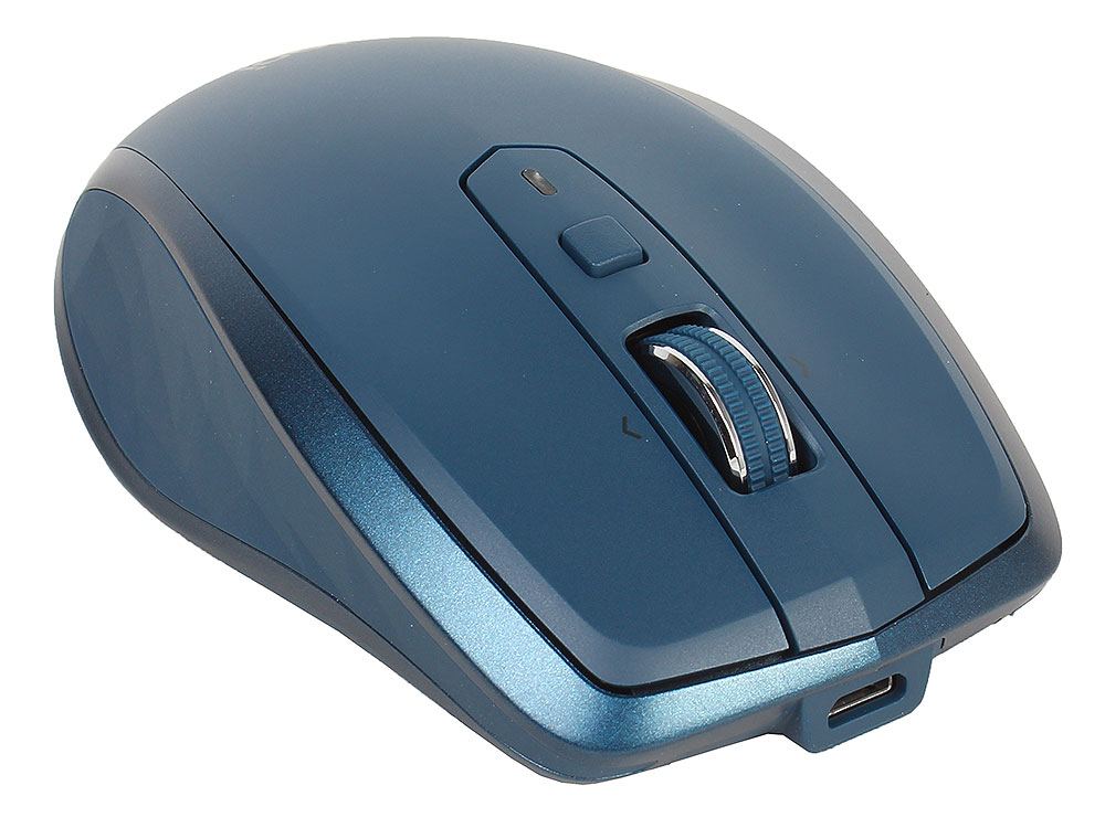 Мышь (910-005154) Logitech MX Anywhere 2S Wireless Mouse MIDNIGHT TEAL мышь 910 005141 logitech mx master 2s wireless mouse light grey