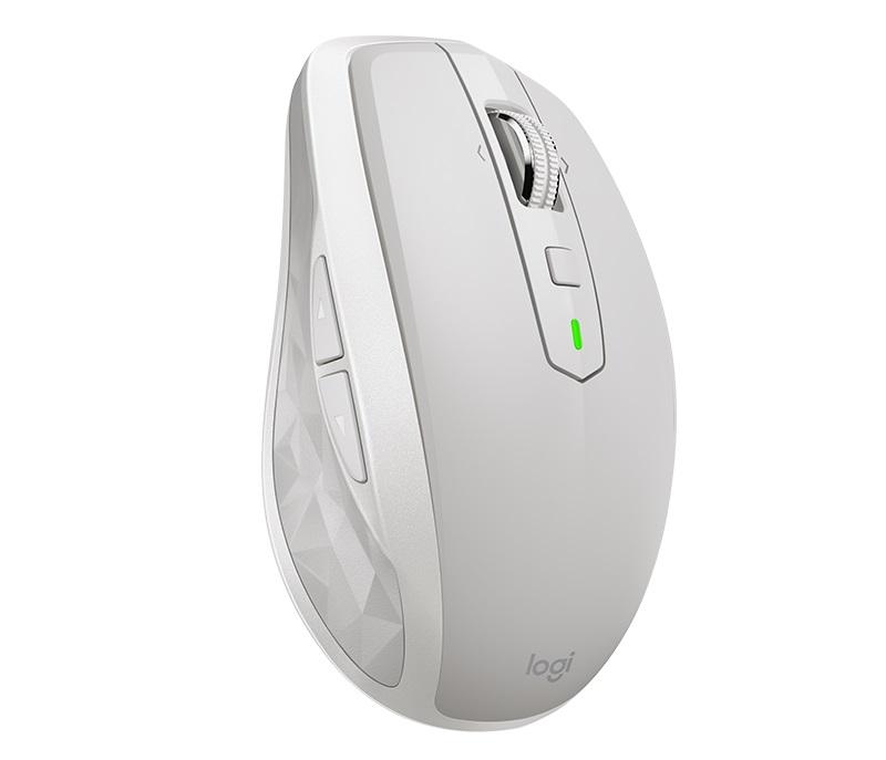 Мышь (910-005155)  Logitech MX Anywhere 2S Wireless Mouse LIGHT GREY logitech g303 daedalus apex 910 004382