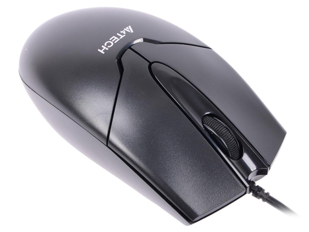Мышь проводная A4TECH OP-550NU V-Track Padless чёрный USB