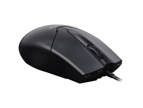 Мышь проводная A4TECH OP-550NU V-Track Padless чёрный USB мышь проводная a4tech n 600x 2 v track padless серый чёрный usb
