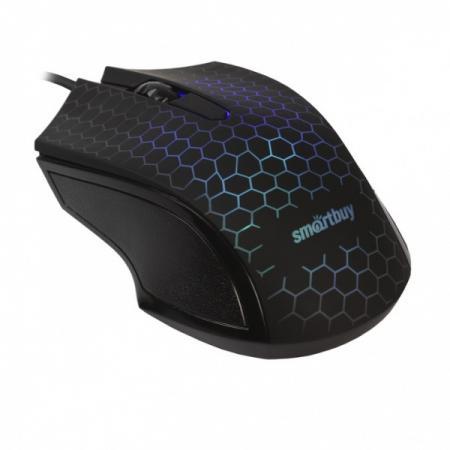 Мышь проводная Smartbuy ONE 334 черная [SBM-334-K]