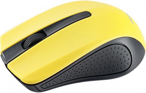 Perfeo мышь беспров, оптич., 3 кн, USB, чёрн-жёлт [PF-353-WOP-Y] мышь perfeo usb black orange pf 353 wop or