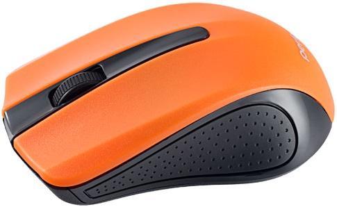 Perfeo мышь беспров, оптич., 3 кн, USB, чёрн-оранж [PF-353-WOP-OR] мышь perfeo usb black orange pf 353 wop or