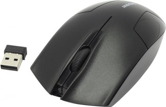 Мышь беспроводная Smartbuy ONE 341AG черная [SBM-341AG-K] цена и фото