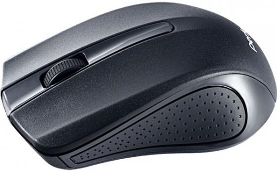 Perfeo мышь беспров, оптич., 3 кн, USB, чёрная [PF-353-WOP-B] мышь perfeo usb black orange pf 353 wop or