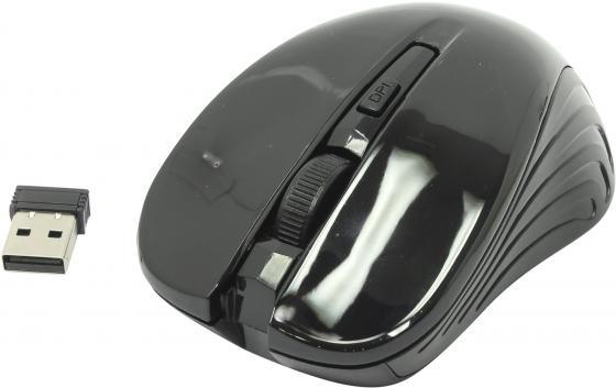 Мышь беспроводная Smartbuy ONE 340AG черный USB SBM-340AG-K мышь smartbuy one 340 ag bordo sbm 340ag m