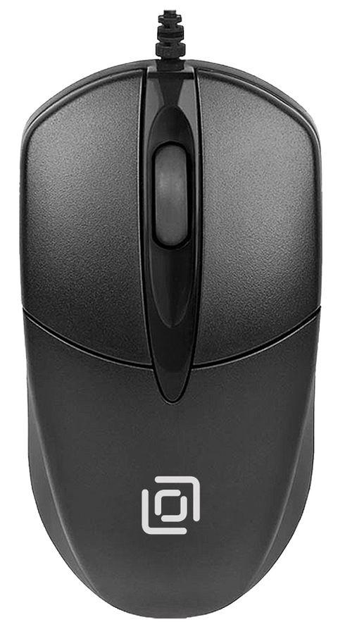Мышь Oklick 275M черный оптическая (1000dpi) USB (2but) мышь oklick 275m оптическая проводная usb черный