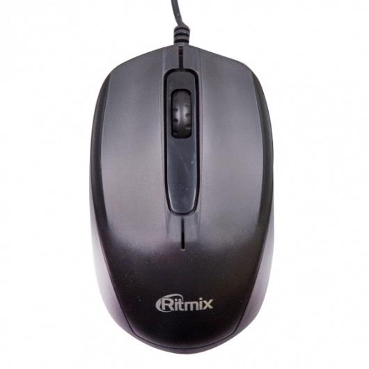 Мышь проводная Ritmix ROM-200 Black USB ritmix rom 303 black мышь
