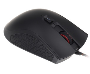 Мышь HyperX Pulsefire FPS Black USB проводная, оптическая, 3200 dpi, 5 кнопок + колесо манипулятор qumo dragon war blackout 3200 dpi usb