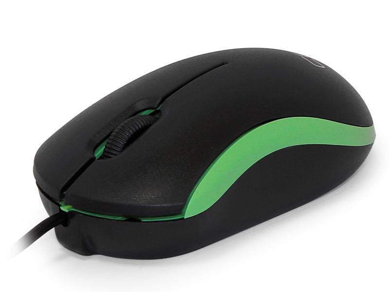 Мышь CBR CM 112  Green, оптика, оптика, 1200dpi, офисн., провод 1.1 метра, USB оптика leapers