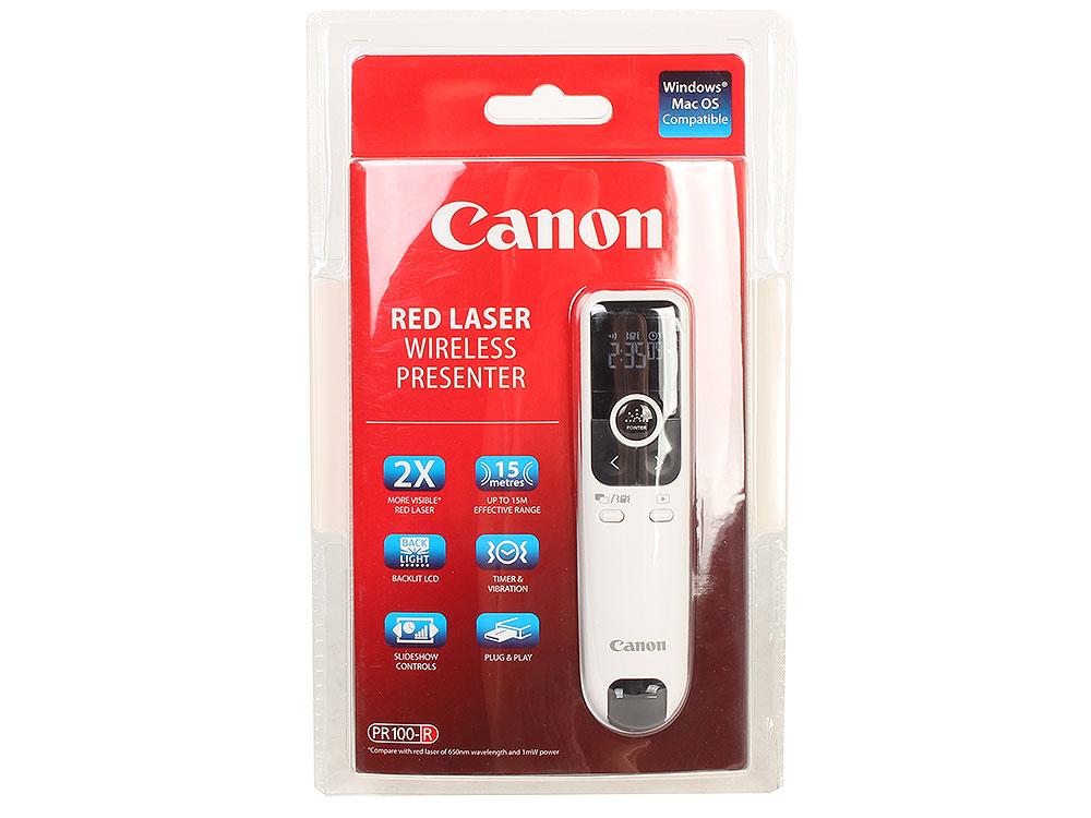Презентер Canon PR100-R (дальность 15м, ЖК-дисплей, таймер и вибрация) 1gc14210 1gc1 4210 ssop16