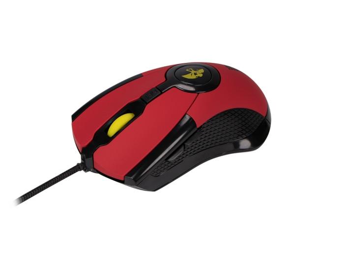 Проводная игровая мышь Jet.A ARROW JA-GH35 красная (800/1200/1600/2400 dpi, 6 кнопок, USB) qisan x5 6 button 800 1600 2000dpi usb wired gaming mouse w 7 led backlight black