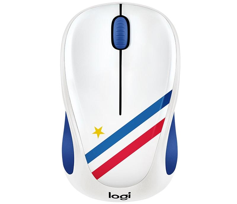 все цены на Мышь беспроводная Logitech M238 France USB оптическая, 1000 dpi, 3 кнопки + колесо онлайн