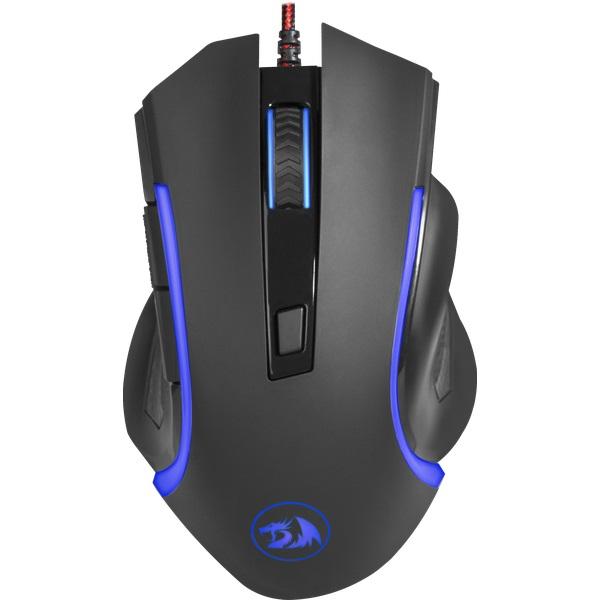 Мышь Redragon Nothosaur Black USB проводная, оптическая, 3200 dpi, 5 кнопок + колесо цена и фото