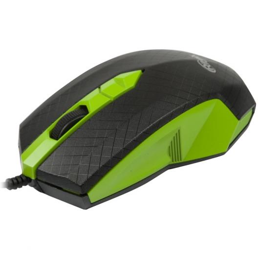 Мышь Ritmix ROM-202 Green USB оптическая, 1000 dpi, 2 кнопки + колесо ritmix rom 202 blue мышь