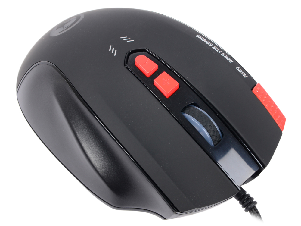 M509 мышь marvo m509 black red usb [6932391913246]