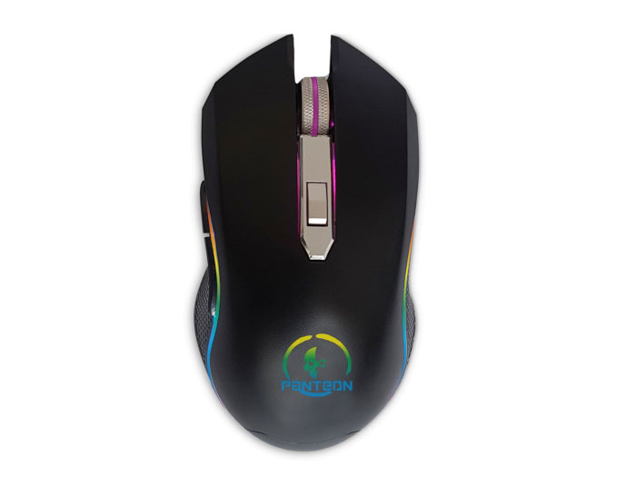 Проводная игровая программируемая мышь Jet.A Panteon MS60 (500-2000dpi,6пр.кнопок,LED-подсветка,USB) r horse fc 1616 stylish usb wired 2000dpi gaming mouse w rgb led light black red