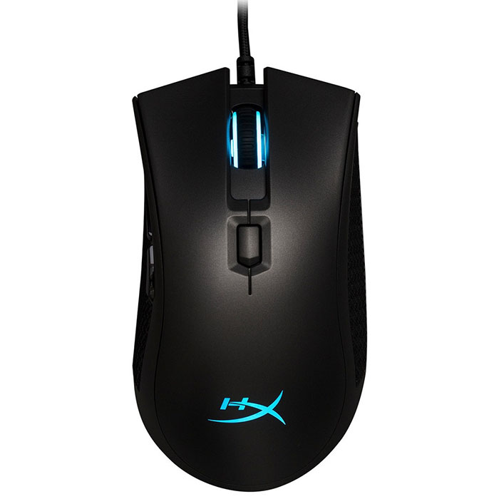 Pulsefire Pro Gaming mouse qisan x5 6 button 800 1600 2000dpi usb wired gaming mouse w 7 led backlight black