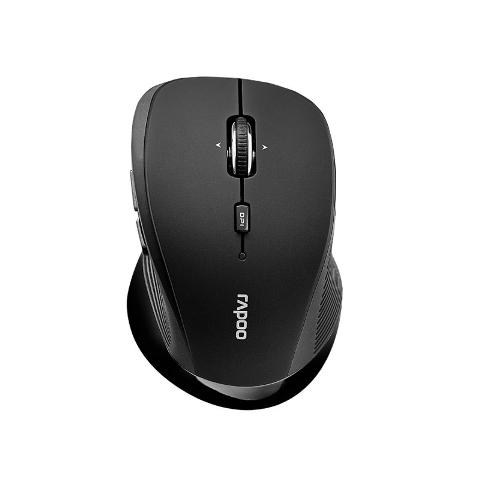 Мышь беспроводная Rapoo 3910, 1000 dpi, 2.4 ГГц, Grey, Black цена и фото