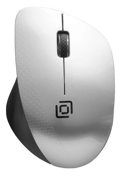 все цены на Мышь беспроводная Oklick 695MW Silver Black USB оптическая, 1000 dpi, 2 кнопки + колесо онлайн