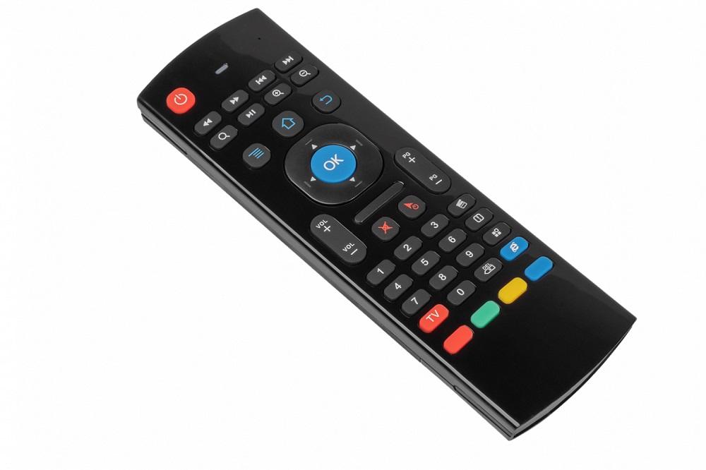 Аэромышь-клавиатура-пульт беспроводной Harper KBWL-030 Black USB 38 кнопок