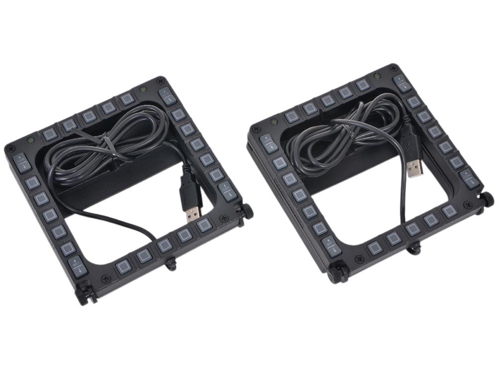 все цены на Набор панелей Thrustmaster MFD Cougar Pack  (2960708) онлайн