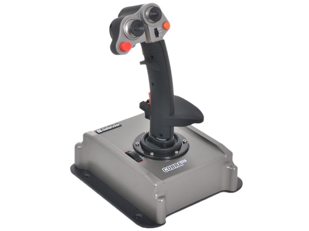 Джойстик Defender COBRA M5 USB 4 оси, HALL-сенсор, 12кн