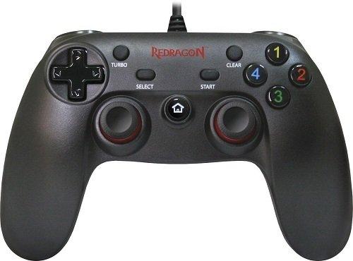 Геймпад проводной Redragon Saturn USB Xinput-PS3, 12кнопок, 2 стика