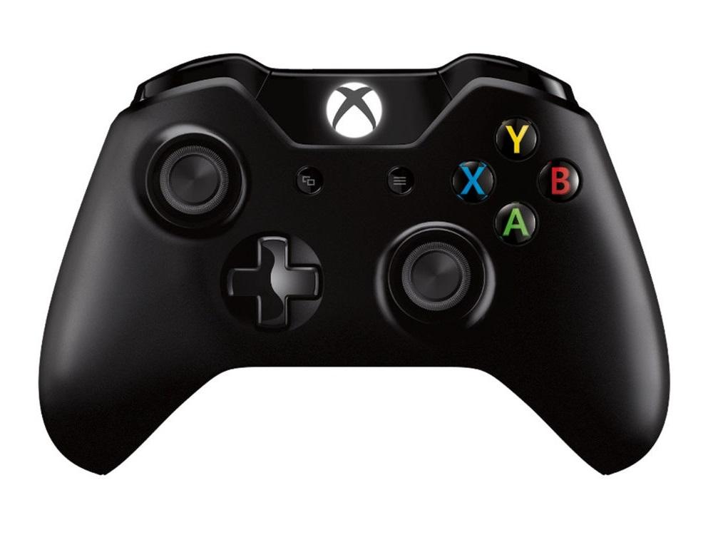 Геймпад Microsoft для Xbox One черный 6CL-00002