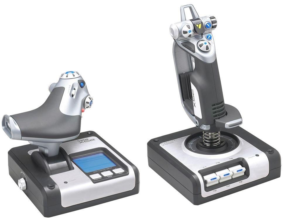 купить Джойстик Logitech G Saitek X52 Flight Control System (945-000006) онлайн